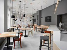 Cafe. Bistro. Bakery Zahorsky de JRA Jarousek.Rochova.Architekti | Intérieurs de café