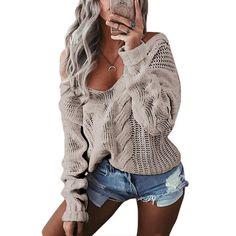 02804606499da8 Women s V-Neck Twist Sweater – 105 Hillside Knitwear