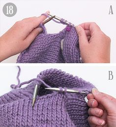 How to work a jumper top down - DROPS Lessons / Knitting lessons Knitting Patterns Free, Baby Knitting, Crochet Patterns, Crochet Kids Scarf, Knit Crochet, Scarf Knots, Drops Design, Learn How To Knit, Crochet Chart