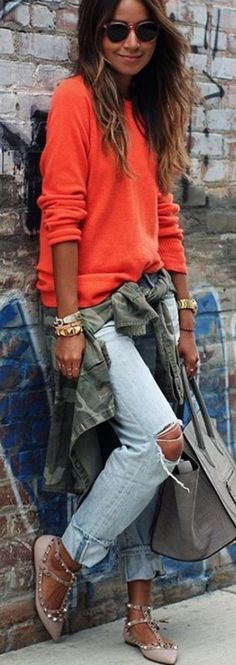 #spring #summer #street #style #outfitideas |Perfect Comfy Outfit Idea