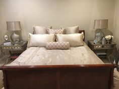 Bedroom created for one of our clients