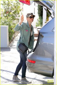 Actress Naomi Watts spotted wearing ASH 'Virgin' buckle trainers