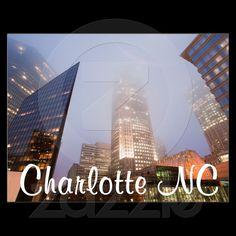 Charlotte NC from Zazzle.com