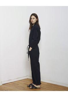 Isabel Marant Étoile / Ilona Jumpsuit  Isabel Marant / Holden Slide Sandal