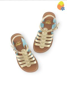Found another one on mini boden girls gladiator sandals :) Mini Boden, Girls Sandals, Girls Shoes, Summer Sandals, Easter Hunt, Easter Eggs, Latest Shoes, Bebe