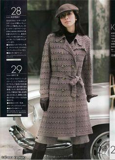 Winter crochet coat ♥LCC♥ with diagrams