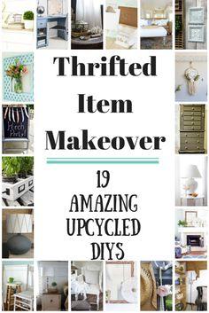 Thrift Store Item Makeover blog hop