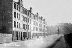 Logie Green Road, Edinburgh, Scotland about 1920.