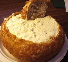 Baltimore Style Hot Cream Cheese Crab Dip: 8 oz white crab meat, drained; 8 oz cream cheese, softened;   1/2 c mayo; 1 T Dijon mustard; 1 T Worcestershire sauce; 1 t seafood seasoning; 1/2 t dry mustard; 2 garlic cloves, minced; 1/2 sm white onion, minced; 1 1/2 T lemon juice. In large bowl, stir to combine all ingredients except crab meat. Gently fold in crab meat. Pour into baking dish and bake at 350 for 12-15 min or 'til lightly brown. Top w/crushed butter crackers & parmesan last 5 min.