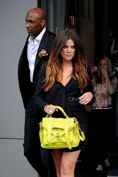 Khloe Kardashian ombre hair . . . love this