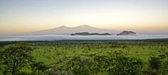 A view of Mt Kilimanjaro ©Kampi Ya Kanzi