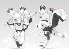 Kiki , mascotte of Krita. Designed Tyson Tan