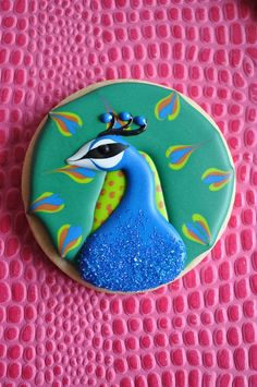 The baby shower could be Pretty's peacock paradise!!! We could eat these cookies!!!!