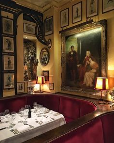 the traveling gentleman on instagram some cozy tables at stylish rules rules restaurant which