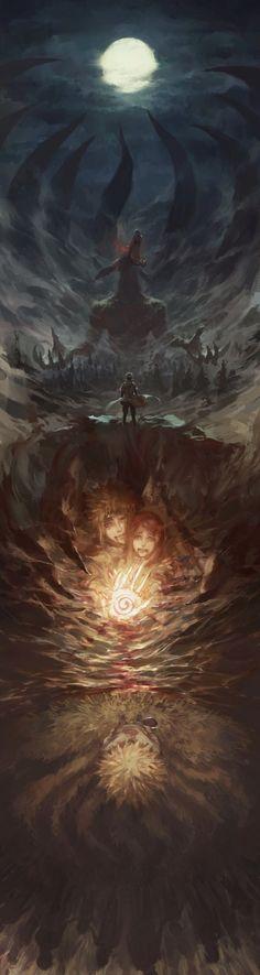Naruto Rin Nohara Amazing Beautiful Anime Art Huge Giant Print POSTER Affiche