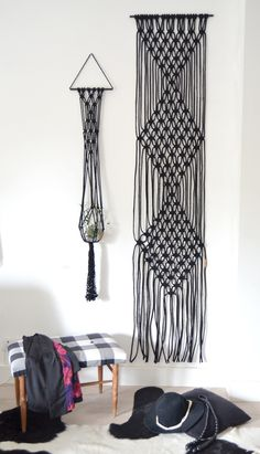 CLASS #macrame WALL ART by Ranrandesign #SilkyJean
