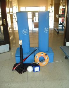 Iowa Braille School - Adapted Physical Education and Recreation Equipment. This site was a good site that showed examples of different adapted physical education equipment and what there uses are for when used with kids with a disability.