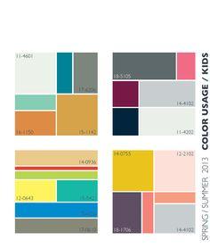 Lenzing Spring/Summer 2013 Color Trends | Color Usage for Kids | Fashion Trendsetter