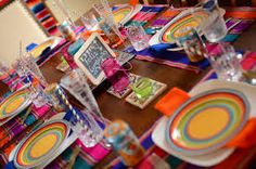 Image result for MEXICAN  table setting ideas