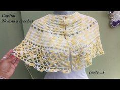Capita Norma a crochet Crochet Collar, Crochet Shawl, Crochet Baby, Knit Crochet, Short Scarves, Neck Warmer, Shawls And Wraps, Baby Dress, Sweaters For Women