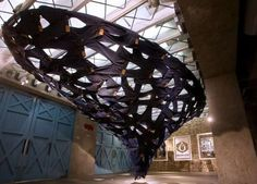 Whirlpool Denim Installations - Ian Mcchesney's Levi's Sculpture Celebrates Its Water Preservation (GALLERY)
