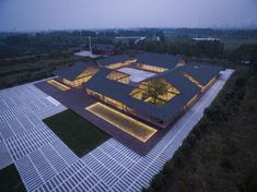 Image 10 of 36 from gallery of Tangshan Organic Farm / ARCHSTUDIO. Photograph by JIN Wei-Qi