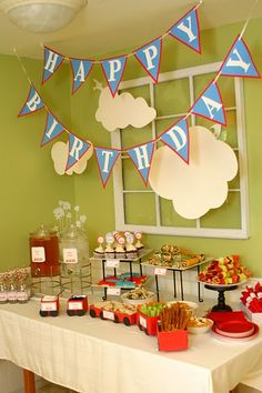food for birthday party