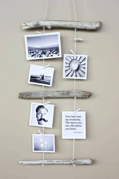 Rustic Photograph Display