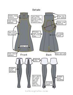 cosplay Illustrations fire emblem references fe13 lucina