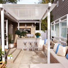 Not all courtyards will be situated in a shady spot, and you may need to erect a structure to provide shade during the hottest time of the…