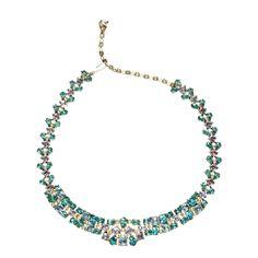 Vintage Jomaz Blue Skies Necklace 1