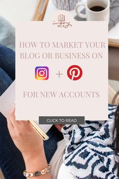If you have recently started a blog or business and don't know where to start with marketing on Instagram and Pinterest then this post has everything you need to get started on these platforms. This blog post will help you create content for these platforms to showcase your business or blog from the start Make Money Blogging, How To Make Money, Instagram Tips, Blogging For Beginners, Pinterest Marketing, Social Media Tips, Blog Tips, How To Start A Blog, Platforms