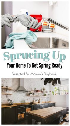 Sprucing Up Your Spring Home  #SpringCleaning #DIYIdeas