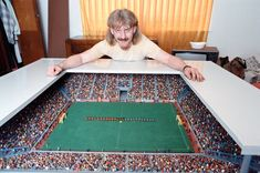 Finger flickin' good: Subbuteo through the ages – in pictures – My CMS Football Images, Football Design, Chelsea Fc, Martin Buchan, Lawrence Dallaglio, Ray Clemence, Dwight Yorke, Trevor Francis, Soccer