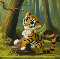 Tiger Cub 2014 by Kamirah.deviantart.com on @DeviantArt