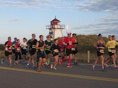 PEI Marathon – yay! Red Sand Beach, Prince Edward Island, Place Names, Marathon, Canada, Running, Marathons