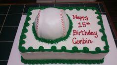 Amy's Crazy Cakes - Baseball Cake