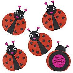 Lady Love Bugs Valentine Kit