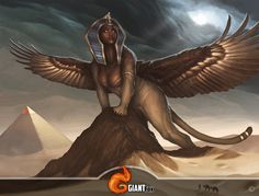 Sphinx, Rise of Titans by MorkarDFC