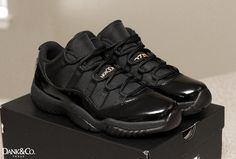 4f55591b79721a  Wedding Day  Air Jordan 11 Low All Black Offres De Noël