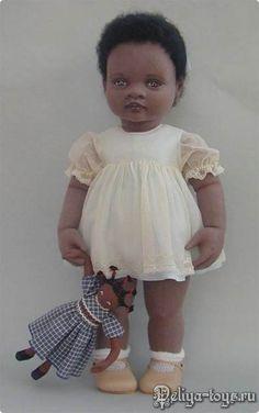 Teresa Churcher и её текстильные куклы. Toddler Dolls, Child Doll, Girl Dolls, Baby Dolls, Toddler Girl, Pretty Dolls, Beautiful Dolls, African American Dolls, Soft Dolls