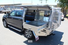 We build the strongest aluminium ute canopies on the market. Norweld can design and manufacture an aluminium canopy to suit your needs and budget. Truck Bed, Truck Camper, Custom Ute Trays, Pickup Canopy, Ute Camping, Ute Canopy, Cruiser Car, Mobile Workshop, Truck Storage