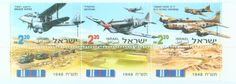 Israeli Aircraft of 1948 | History of Israel - IDF Stamps
