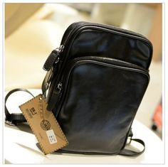 Men's Vintage Canvas Shoulder Bag Crossbody Messenger Purse Mini ...