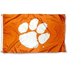 Clemson Tigers CU University Large College Flag College F...
