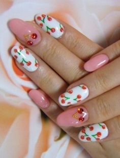 cherry manicure