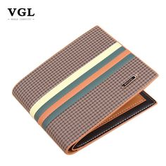 Find More Wallets Information about 2016 VGL Famous Brand Genuine Leather Mens Wallet Men Purses…