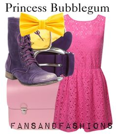 Princess Bubblegum Inspired Outfit - Adventure Time
