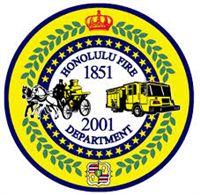 Honolulu Fire Department (logo) - Honolulu, HI Fire Dept, Fire Department, Hawaii Fire, Fire Helmet, Fire Equipment, Fire Apparatus, Fire Trucks, Patches, Badges