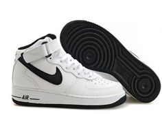 Nike Air Force One Mid White Blk